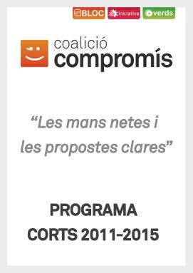 Programa Corts 2011